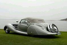 Horch 853 Voll & Ruhrbeck Sport Cabriolet 1937 aún en estos tiempos.... Impresionante!