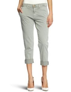 Hudson Women's Jamie Slim Safari Chino, Military Green, 24 Hudson. $181.00