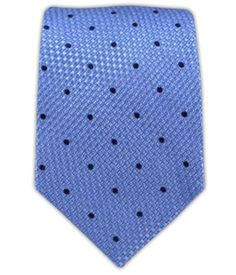 Grenafaux Dots - Light Blue (Skinny) | Ties, Bow Ties, and Pocket Squares | The Tie Bar