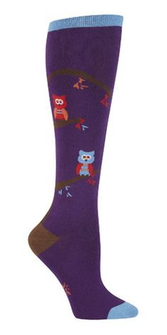 Tree Owl Sock $12.00