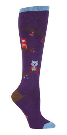Sock It to Me | Women's Knee High | Tree Owl