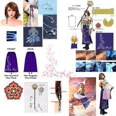 jpg Photo par namine-nobody- Final Fantasy Cosplay, Yuna Final Fantasy, Final Fantasy Girls, Final Fantasy Artwork, Yuna Cosplay, Cosplay Diy, Cosplay Costumes, Cosplay Ideas, Cartoon Books
