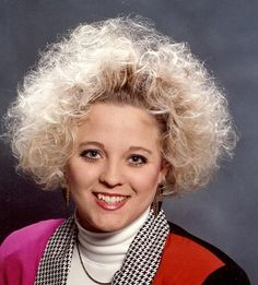 coiffure style 80s