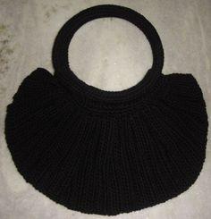 Croche e Cia: Minha primeira Fat Bag