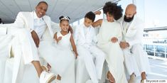 Tina Knowles Wedding Photo Is Perfection (And Blue Ivy Is A Dancing Queen)