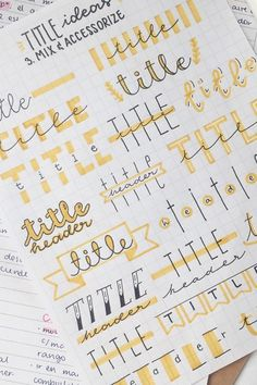 Best Bullet Journal Header & title ideas for 2020 - Crazy Laura - The ultim. - Best Bullet Journal Header & title ideas for 2020 – Crazy Laura – The ultimate collection o - Bullet Journal School, Bullet Journal Headers, Bullet Journal Banner, Bullet Journal Notebook, Bullet Journal Ideas Pages, Bullet Journal Inspiration, Bullet Journals, Bullet Journal Writing Styles, Bullet Journal Timetable