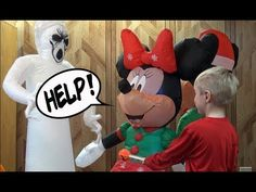 Max Saves Minnie and Mickey Mouse From Ghost Inflatable! Plus Tour of Holiday Inflatables Holiday Inflatables, Circus Maximus, Mickey Mouse, Tours, Make It Yourself, Disney Characters, Videos, Youtube, Fun