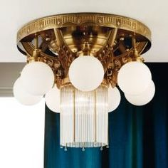 Tuscanor - Traditional Ceiling Light - TUSDLU 1660/7+1