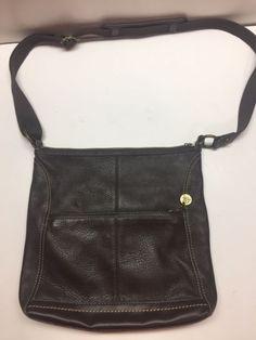 The Sak Original Iris sz Medium Brown Leather Crossbody purse Handbag  shoulder   eBay Brown Leather 776d12e9a091