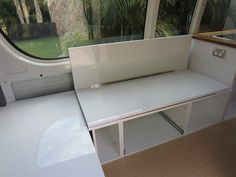 How to convert campervan seating into a bed