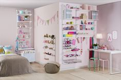Kids room storage and shelving ideas Kitchen Pantry Design, Kitchen Decor, Shelving Solutions, Shelving Ideas, Elfa, Storage Design, Organizing Your Home, Cool Kitchens, Home Office