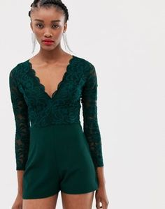6fcbb1322bb Image 1 of New Look romper in lace New Look Playsuit
