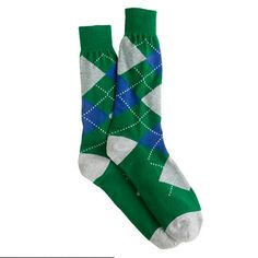 J.Crew - Lightweight argyle socks