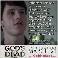 Gods not Dead! The movie March 21st