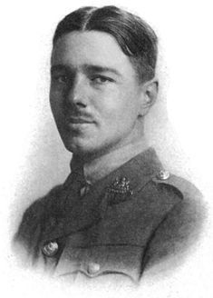 Wilfred Edward Salter Owen MC (18 March 1893 – 4 November 1918) was an English poet and soldier, one of the leading poets of the First World War. His shocking, realistic war poetry on the horrors of trenches and gas warfare was heavily influenced by his friend Siegfried Sassoon