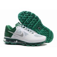 Cheap Nike Air Max 2013 Green Grey White