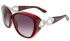 9ddd8266410 SWAROVSKI Womens SK008669T Sunglasses     Want additional info  Click on  the image.