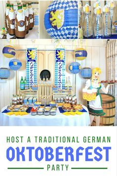 Oktoberfest is a sixteen-day festival that celebrates the arrival of Autumn in Germany. Bring Bavaria into your backyard in honor of this German tradition! @nikimeiners shares ideas for Oktoberfest decorations, food, and activities that will make your festivities unforgettable.