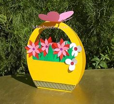 Flowery Cards - Mother's Day Crafts For Kids - Photos Diy Mother's Day Crafts, Mother's Day Diy, Spring Crafts, Paper Crafts, Mothers Day Crafts For Kids, Easter Crafts For Kids, Mothers Day Cards, Flower Cards, Paper Flowers