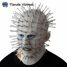 hundreds of products with discount and free shipping 🎃🎃🎃   HELLRAISER MEZCO ThreeZero Pinhead Sideshow Mask Hood Overhead Latex… ⭐⭐⭐