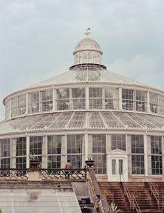 Botanical Gardens in Copenhagen, Denmark