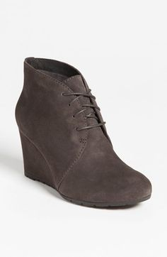 Free shipping and returns on Clarks® 'Rosepoint Dew' Bootie (Online Only) at Nordstrom.com. A wrapped wedge boosts the cohesive cool of an understated desert bootie taken to flattering, leg-lengthening heights.