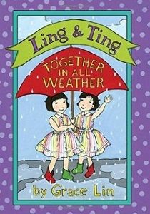 Starred review of Grace Lin's Ling & Ting: Together in All Weather by Martha V. Parravano, January/February 2016 Horn Book Magazine