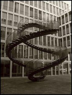 Never Ending Spiral staircase