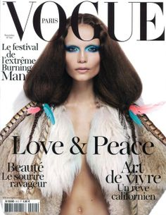 French Vogue goes native american