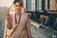 Good look! Photo by DotDusk Studios, Delhi #weddingnet #wedding #india #indian #indianwedding #ceremony #indianweddingoutfits #outfits #backdrops #prewedding #photographer #photography #inspiration #gorgeous #fabulous #beautiful #jewellery #jewels #details #traditions #accessories #lehenga #lehengacholi #choli #lehengawedding #lehengasaree #saree #bridalsaree #weddingsaree #tikka #earrings #pune #gold #darkblue