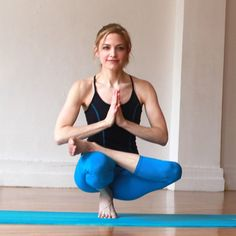 Modified Tip Toe Yoga Pose - Step-By-Step Breakdown: Tip Toe Pose - Shape Magazine - Page 12