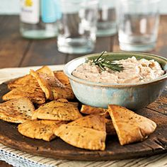 Rosemary-Garlic White Bean Spread | MyRecipes.com