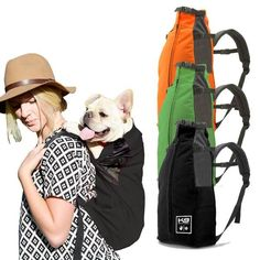 K9 Sport Sack: The original dog carrier backpack  http://k9sportsack.com