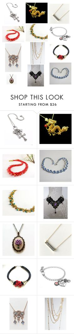 """accessories"" by anastasiatsouk ❤ liked on Polyvore featuring vintage"