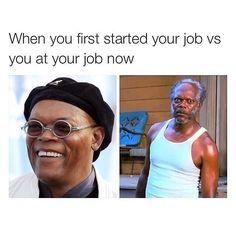 You've aged a bit.