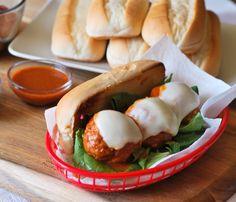 Tapatio Buffalo Chicken Meatball Sub