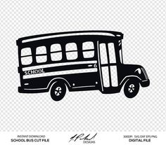School Bus Decal, Personalized Bus Driver Decal, Bus