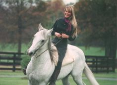 Bo Derek and her Andalusian provided by Bravenet.com