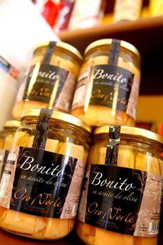 Bonito de Oro Norte en aceite de oliva,Calidad y sabor tradicional, el bonito se caracteriza por su carne blanca, un sabor exquisito y una textura más suave que la del resto de su especie.#conservas #aove #bonito