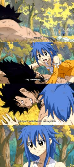 #Gajeel and #Levy AHH! In the last chapter she KISSED HIM TO GIVE HIM AIRRRR!!! AND I RAN OUT OF AIR BECAUSE IT WAS PERFECT, A SHIP CAME TRUE!!!