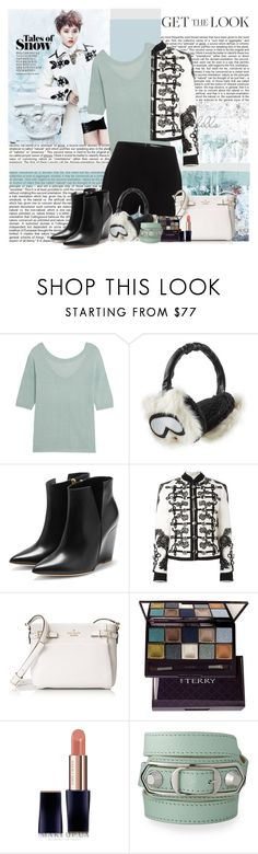 """Baby its cold outside"" by polybaby ❤ liked on Polyvore featuring Martha Stewart, Missoni, Alexander McQueen, Karl Lagerfeld, Rupert Sanderson, Dolce&Gabbana, Kate Spade, By Terry, Estée Lauder and Balenciaga"