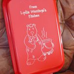 Personalized engraved cake pans & covers.  Great for taking to potlucks and you don't have to worry if you leave your pan because it will have your name on it!