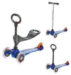 Micro Mini 3-in-1 Kick Scooter, Blue Micro Kickboard http://www.amazon.com/dp/B0068ZRYZU/ref=cm_sw_r_pi_dp_fYLwub021CWNE