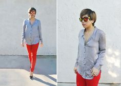 Simple dressing (by Yuka I.) http://lookbook.nu/look/4470967-simple-dressing