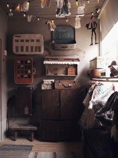 barnrum vintage barnrumsinspo kidsroom Childrens Room Decor, Kids Corner, Kidsroom, Play Houses, Decoration, Kitchen Appliances, Interior Design, Modern, Camille