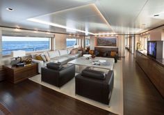 Sanlorenzo Yacht Interior #luxury