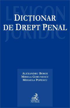 Dictionar de drept penal