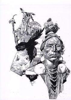 Il West di Sergio Toppi - Museo Nazionale del Fumetto e dell'Immagine