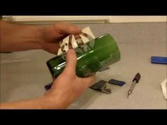 Make a Glass Bottle Cutter & How to Cut Wine Bottles for Cups - All