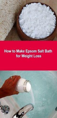 How to Make Epsom Salt Bath for Weight Loss - Detox Recipes Breakfast Ideas Epsom Salt Foot Soak, Epsom Salt Bath, Diy Face Scrub, Diy Scrub, Epsom Salt For Hair, Salt Hair, Homemade Foot Soaks, Skin Tags On Face, Salt Detox
